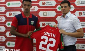 Transfer News. Median Smith backs to FC Kizilkum from FC Lokomotiv