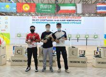 Впервые на чемпионате Азии по стрелковому спорту наши стрелки завоевали золотую медаль