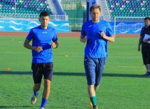 Футболисты «Согдианы» сдали нормативы