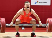 Eight Uzbek weightlifters to leave for 2019 Asian Weightlifting Championships