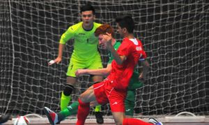 Iran claim a 6-3 win over Turkmenistan in 2019 AFC U-20 Futsal Championship Qualifiers
