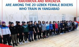 Rakhimova and Mirzaeva are among the 20 Uzbek female boxers who train in Yangiabad