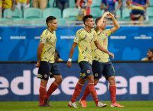 Колумбия - Парагвай 1:0 (видео)