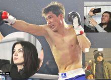 Хонабодда ўтказилган профессионал бокс жангларидан фоторепортаж (1-қисм)