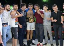 Тошкентдаги профессионал бокс оқшомида
