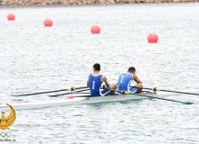 The third stage of Uzbekistan Rowing Championship takes place on Tashkent Sea
