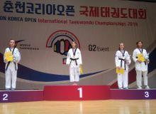 """Светлана Осипова """"Chuncheon Open"""" мусобақасининг финалчисига айланди"""