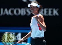 Тайвань теннис маликаси иккинчи даврада