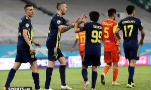 Photo Gallery. FC Pakhtakor 4-1 FC Nasaf