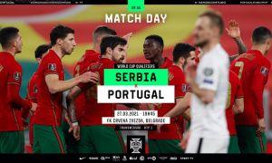 ЖЧ саралаши. Сербия - Португалия: Асосий таркиблар маълум