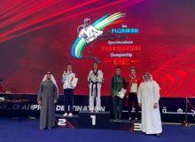 """В последний день международного соревнования """"Fujairah Open"""" наши таэквондисты завоевали 6 медалей"""