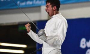 Наш шпажист Хасан Бадунов стал золотым призёром на кубке Мира