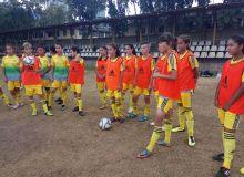 Женская сборная Узбекистана U-16 провела предматчевую тренировку (Фото)