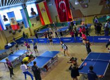 Uzbek team earn the 2nd place in the 11th International Table Tennis Festival in Moldova
