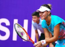 Uzbekistan's Sabina Sharipova earns a spot in the W15 Monastir final in Tunisia