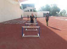 Молодые спортсмены обучаются в центре подготовки звезд легкой атлетики