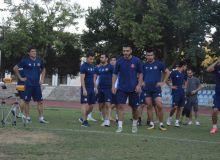 Футболист «Локомотива» тренируется в составе «Кызылкума» (Фото)