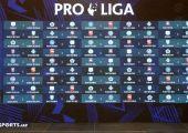 Pro-league draw