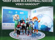Юные участники из Узбекистана приняли участие в установлении нового мирового рекорда Гиннесса