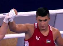 Санжар Турсунов завоевал серебряную медаль