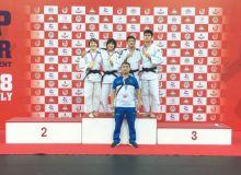Uzbek judokas claim four medals at the 2018 Asian Cadets & Junior Judo Championship