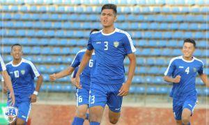 Сборная Узбекистана U-16 начала участие в отборочном раунде ЧА с победы