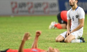The reigning champions stop the White Wolves in Asian Games quarterfinals