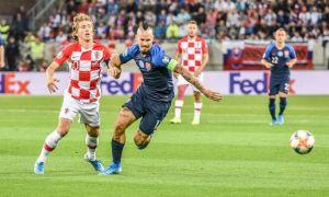 Евро-2020 саралаш босқичи. Хорватия 1 киши кам бўлиб қолган рақибини мағлуб этди ва қолган натижалар