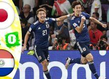 Япония - Парагвай 2:0 (видео)