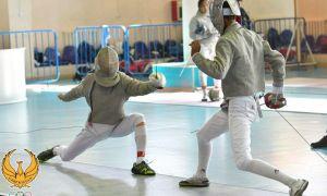 Стартует первый виртуальный Республиканский чемпионат по фехтованию