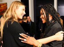 Мария Шарапова встретилась с Наоми Кэмпбелл в Нью-Йорке