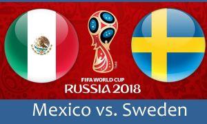 Мексика - Швеция. Матнли онлайн трансляция