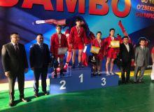 Известны победители чемпионата Узбекистана среди молодых самбистов
