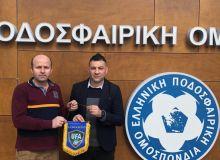 ЎФА мутасаддилари Греция футбол федерацияси вакиллари билан учрашишди