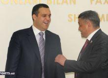 Фотогалерея с пресс-конференции, в которой участвовал президент AIBA Умар Кремлёв