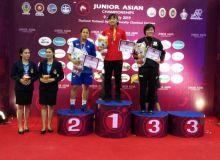 Медали всех достоинств чемпионата Азии