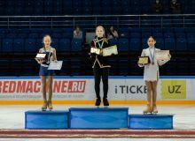 В Ташкенте завершился чемпионат страны по фигурному катанию