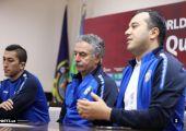 Uzbekistan training and press conferation