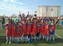 Болалар футболи. Наманган жамоаси U-12 Республика чемпионатининг ғолибига айланди