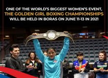 2021 Golden Girl Boxing Championships to take place in Boras