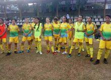 Женская сборная Узбекистана U-16 провела тренировку перед матчем с Гуамом