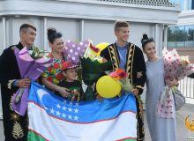 Наши академические гребцы, впервые ставшими призёрами на ЧМ вернулись в Ташкент