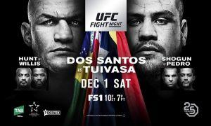 UFC Fight Night 142 кимлар қатнашишади?