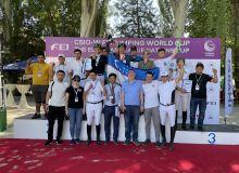 Наши всадники снова заняли все призовые места на международном турнире