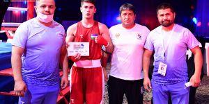 Uzbekistan's junior trio Bozorov, Tulkinov and Boltayev advanced to their second ASBC finals