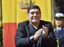 Марадона Либертадорес кубоги финали олдидан юзага келган тартибсизликда Аргентина президентини айблади