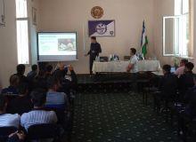 Сербский специалист Воя Милославлевич провёл семинар в Навои
