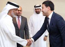 Президент Катарской ассоциации футбола поздравил Умида Ахматджанова