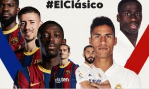 """Бугун """"Барселона"""" ва """"Реал"""" иштирокидаги """"эл-класико"""" бўлади"""
