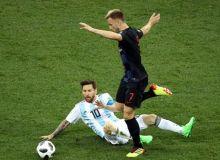 Аргентинани йирик ҳисобда енган Хорватия плей-офф масаласини муддатидан аввал ҳал қилди (видео)